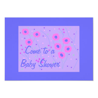 Baby Shower Invitation, boy 13 Cm X 18 Cm Invitation Card