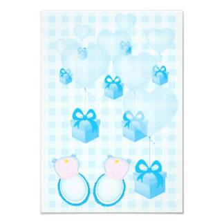 baby shower invitation card twins boys
