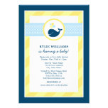Baby Shower Invitation | Nautical Preppy Whale