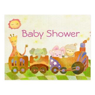 Baby Shower Invitation Post Card
