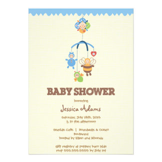 Baby Shower Invite (Boy)