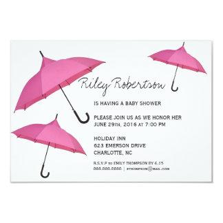 "Baby Shower Invite | Shower 3.5"" X 5"" Invitation Card"