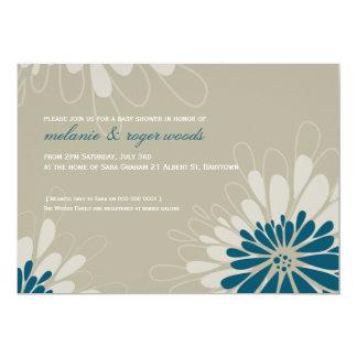 BABY SHOWER INVITES :: modern bloom 3L