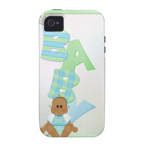 Baby Shower Keepsake Gift Case Vibe iPhone 4 Cover