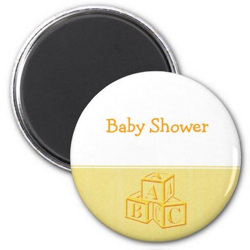 Baby Shower Fridge Magnets