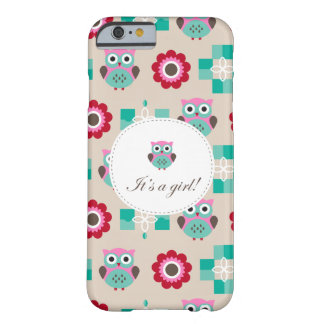 Baby Shower marries Barely There iPhone 6 Case