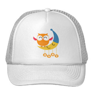 Baby Shower Owl Trucker Hat