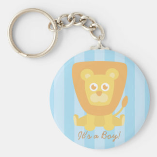 Baby Shower Party Favor: Cute Cartoon Lion Keychains