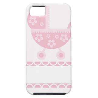 Baby Shower Party Pink Blossoms Girly Mother iPhone 5 Cover
