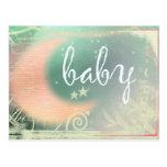 Baby Shower postcard invitation