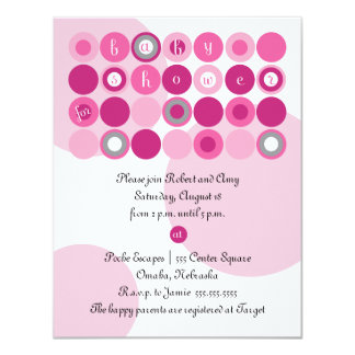 Baby Shower Postcard Invite