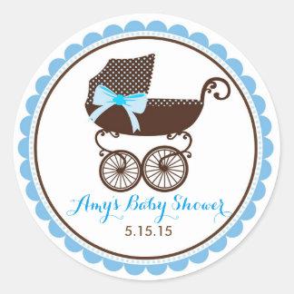 Baby Shower Pram Stickers