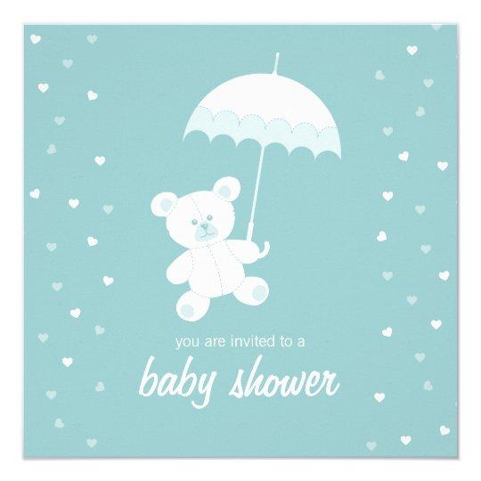 Baby Shower - Teddy Bear - Blue /