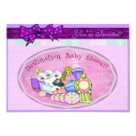 Baby Shower template Custom Announcements