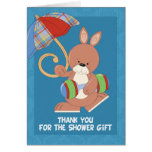 Baby Shower Thank You Note