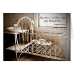 Baby Shower Thank You Note May The Lord Bless You Stationery Note Card