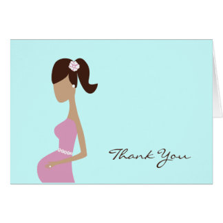 Baby Shower Thank You Note Note Card