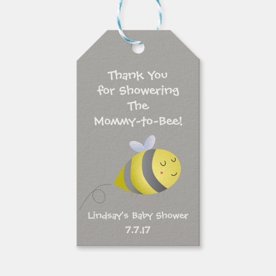 Baby Shower Themed Favour or Gift Tag