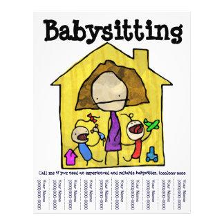 Baby Sitter Flyer