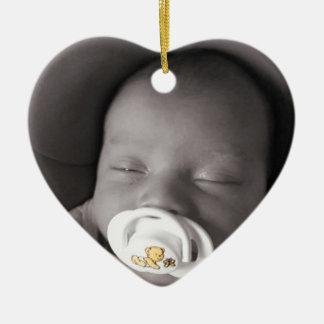 Baby Sleeping Christmas Ornament