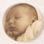 Baby sleeping coasters