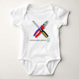 Baby small hands hobbyherramientas baby bodysuit