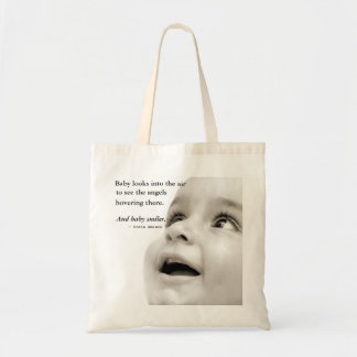 Baby Smiles tote bag