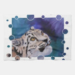 Baby Snow Leopard Towels
