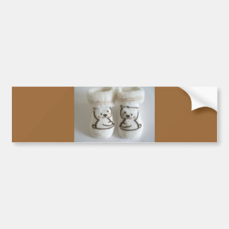 Baby Socks Bumper Sticker