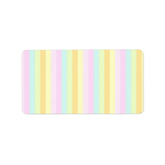 Baby Soft Pastels Label