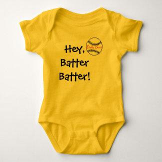 Baby Softball Fan Gear Baby Bodysuit