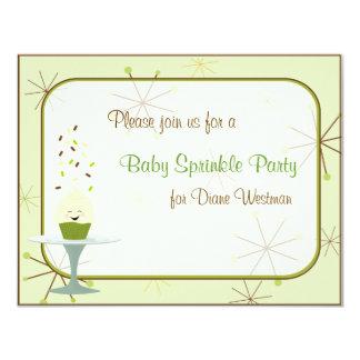 Baby Sprinkle Party Invitation in Gender Neutral