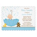 Baby Sprinkle Shower Invitation for Boy