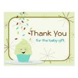 Baby Sprinkle Thank You Gender Neutral Postcards