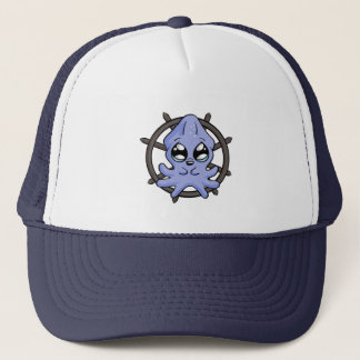 Baby Squid Wheel! Trucker Hat