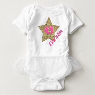Baby Star One Piece Tutu Bodysuit