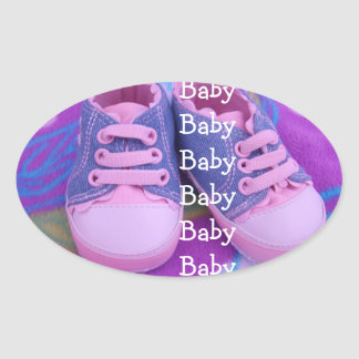Baby stickers seals Envelopes Invitations Shoes