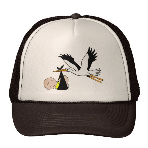 Baby & Stork - Bundle of Joy Hats