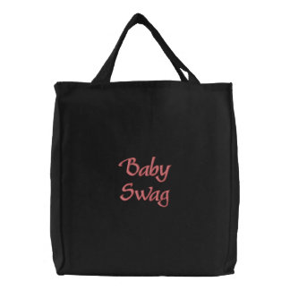 'Baby Swag' Embroidered Tote Bag
