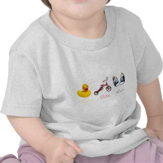 Baby Swim Bike Run Tshirt