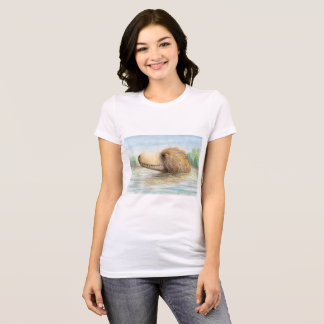 Baby T.rex at the swimmin' hole! T-Shirt