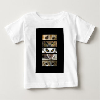 Baby T-Shirt - Animals Eyes