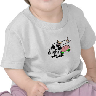 "Baby T-shirt knows ""motive for cow """