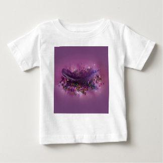 Baby T-Shirt - Purple Fairys Feather