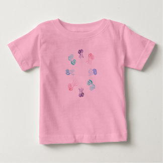 Baby T-shirt with jellyfishes