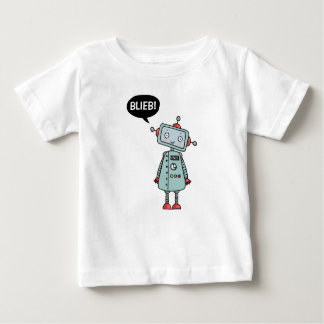 Baby t-shirt with lief robotje