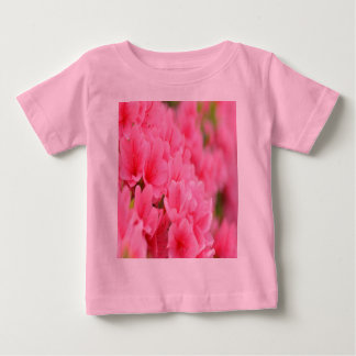 BABY T-SHIRTS products-Pink flowers