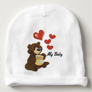 Baby Teddy Bear Cotton Beanie Baby Beanie