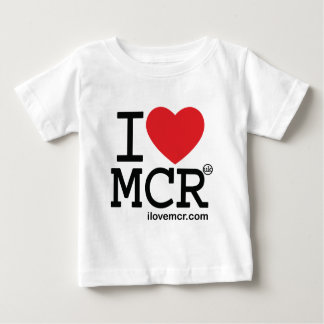 Baby tee - I Love Manchester MCR