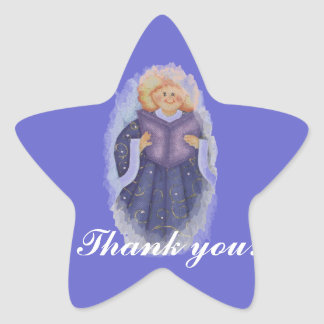 baby  thank you sticker